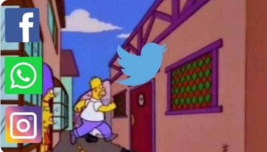 Whatsap, Instagram e Facebook fora do ar. Mas o Twitter não.