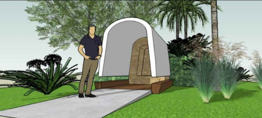Gruta da padroeira dos ciganos é revitalizada em morro de Santos