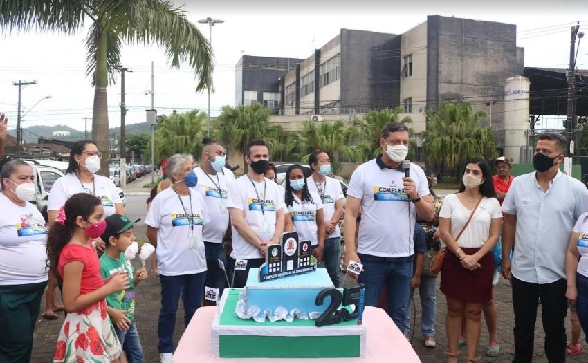 Complexo hospitalar da Zona Noroeste em Santos completa 25 com projetos de ampliação e modernização