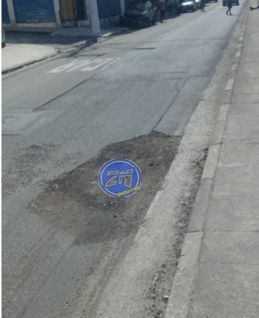 Rua Hugo Maia será asfaltada.