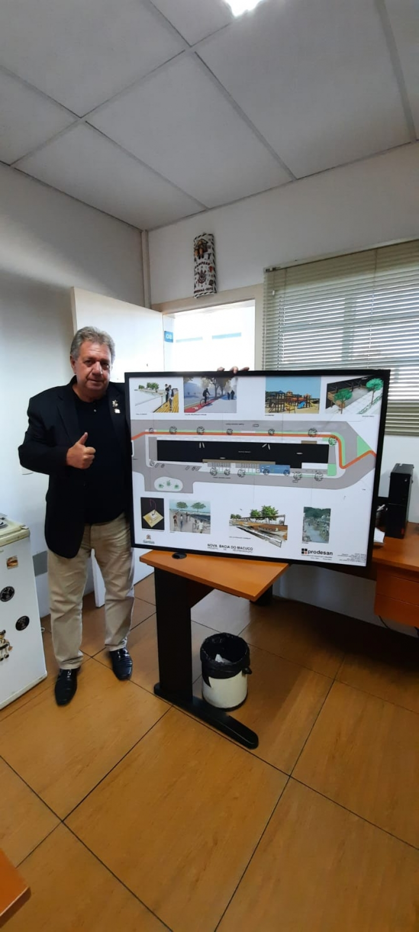 Projeto da Nova Bacia do Macuco será realizado.